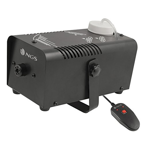 NGS Steam Wind Smoke machine 0.3L 400W Negro - Máquina de humo (400 W, 220-250, 50/60, 110 mm, 230 mm, 110 mm)
