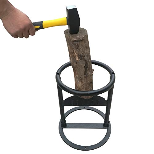 Kindling Wood Splitter 3Lbs Hammer Wood Kindling Splitter Firewood Kindling Splitter by Log Splitter  Manual Log Splitter   DIY Kindling Splitter Includes 3Lbs Hammer