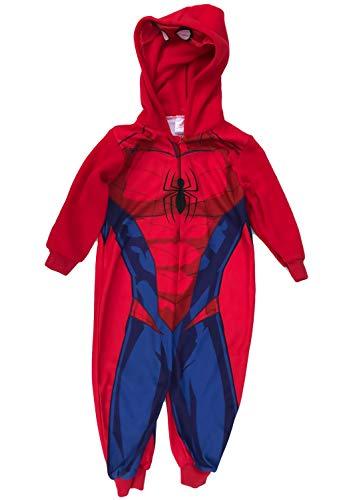 Spiderman jumpsuit Onesie jongens rood maat 104 110 116 128 cm 4 5 6 7 8 9 jaar