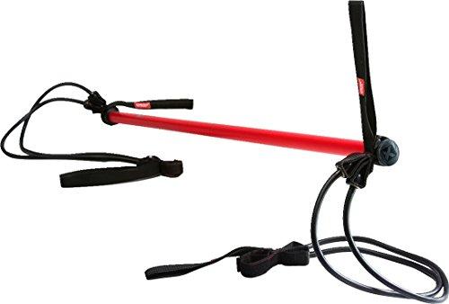 Gymstick Original H.I.T. Rot mit Tasche Phyiso Fitness Stabilisierung 20 u 40 kg