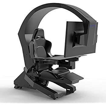 Amazon Com Iw 320 Imperatorworks Gaming Chair Computer Chair For Office And Home For Triple Monitors Kitchen Dining