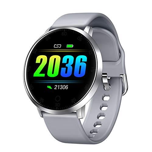 WEINANA Pulsera Inteligente Frecuencia Cardíaca Presión Arterial Sueño Monitorización De La Salud Reloj Inteligente Reloj Inteligente Deportivo Impermeable(Color:UN)