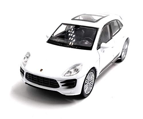 Onlineworld2013 Macan Turbo SUV Modellauto Auto Zufällige Farbe! Maßstab 1:34 (lizensiert)