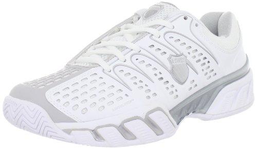 K-Swiss Bigshot II, Zapatillas de Tenis para Mujer, Blanco - Blanc (White/Gull Gray), 39 EU