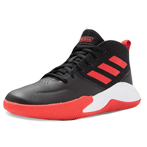 Adidas EF0309, Zapatillas Deportivas, Negro/Rojo/Blanco, 38 EU