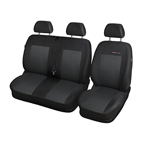 Elegance (E3) (maßgeschneidert) - Autoschonbezug-Set (3-Sitzer) - 5902311273317