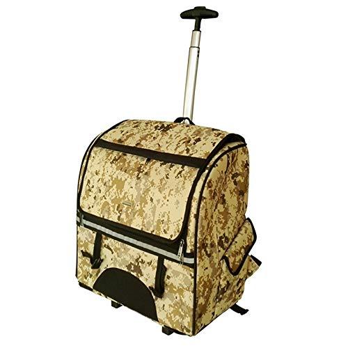 Pet Cash Chelle SHELE Pet Bag Dog Cat EXTERIAL Handbag Dog Scroll Caja De Equipaje, Zhongxianshangmaoyouxiangongsi (Color : Camouflage)