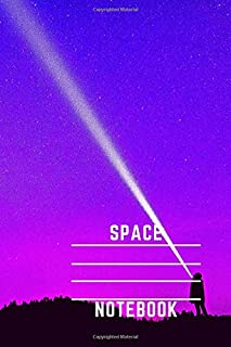 Space Notebook: Galaxy Journal For Kids Teens School Students And Teachers,Primary Composition Diary 2020(100 Pages, Lined...