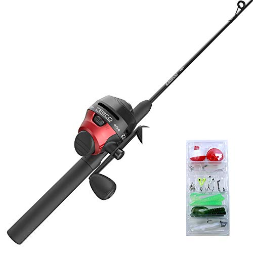 Zebco 404 Spincast Reel and Fishing Rod Combo, 5