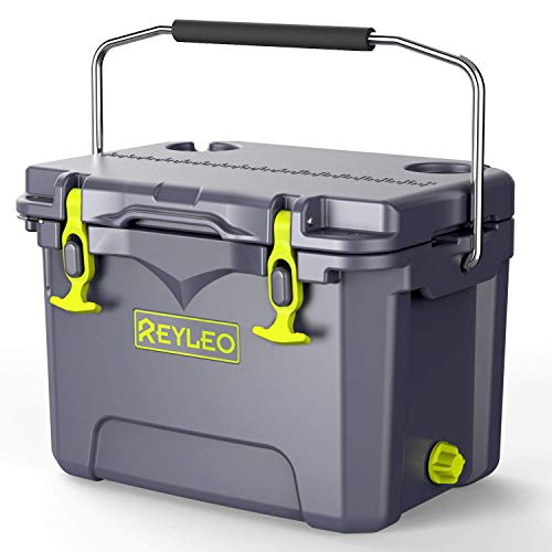 REYLEO Cooler, Rotomolded Cooler 21-Quart, 2:1...