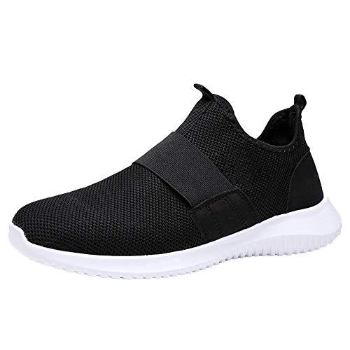 Homme Chaussure de Sport en Plein Air Overmal Baskets Mode Casual Respirantes Poids léger Comfortable Semelle Souple Résistant à l'usure Lacets Running Shoe Sneakers