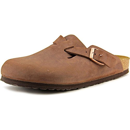 Birkenstock, zoccoli, unisex, per adulti, Marrone (Habana Oiled Leather), 39 EU N
