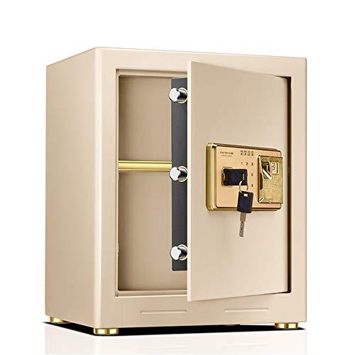 MAATCHH Caja Fuerte de Gabinete Caja Fuerte for el hogar de Acero de Seguridad, biométrico de Huellas Dactilares Quick-Safe Access Acero sólido Segura para el Negocio en casa