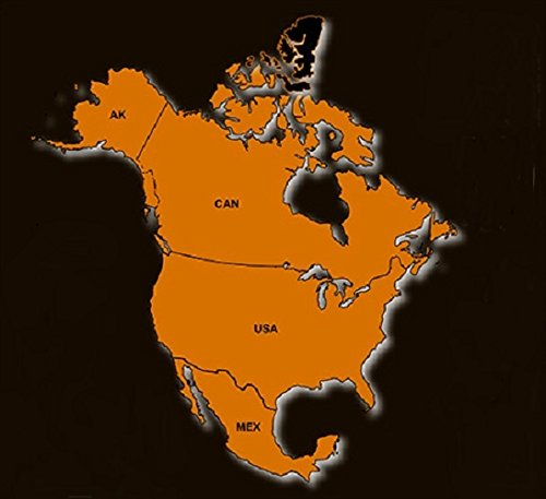 North America GPS Map 2021 for Garmin Devices