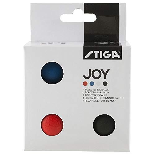 Stiga Tischtennisbälle, 4 Farben