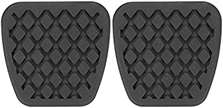 Lovelychica 1 Pair Clutch and Brake Pedal Pad Durable Rubber Cover for Honda Civic Accord CR-V Prelude Acura Automatic Accessories