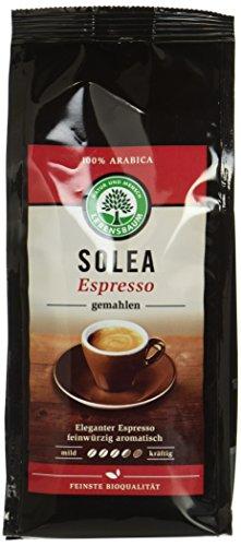 Lebensbaum Bio Solea Espresso, gemahlen (6 x 250 gr)