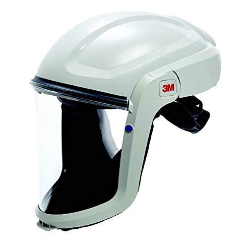 3M 00051131372993 Versaflo Respiratory Faceshield with Faceseal, Capacity, Volume, Standard, Gray