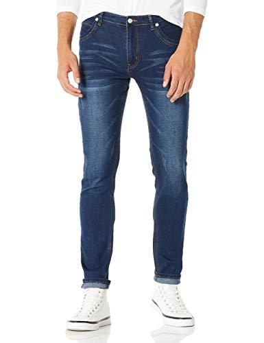 Demon&Hunter 808 Series Men's Skinny Slim Jeans DH8058(34)
