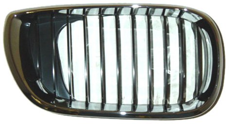 OE Replacement BMW 325/330 Passenger Side Grille Assembly (Partslink Number BM1200127)