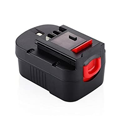 14.4v 2.0Ah 3.0Ah Cordless Power Tool Battery Rechargeable Ni-Mh Battery Replacement Battery For Black & Decker Drill HPB14 FSB14 A14 BD1444L HPD14K-2 CP14KB HP146F2 CDC140AK HP148F2R(VIRSHX)