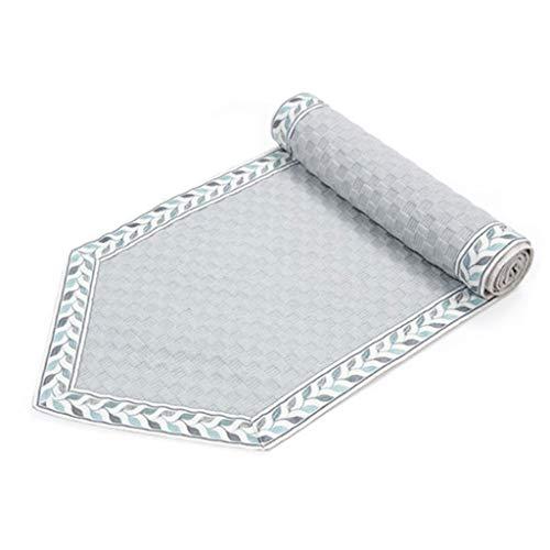 WXGM Chemin de Table, Style européen Simple Gris, Tissu en Polyester sélectionné, Confortable et Respirant, Plusieurs Tailles (Couleur : Gray, Taille : 30×180CM)