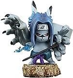 Figuras de Anime-Figura de Naruto Uchiha Sasuke 11 cm / 4,3 pulgadas Pvc personaje de dibujos animados de anime Escultura Juguete Colección de decoración de oficina en casa