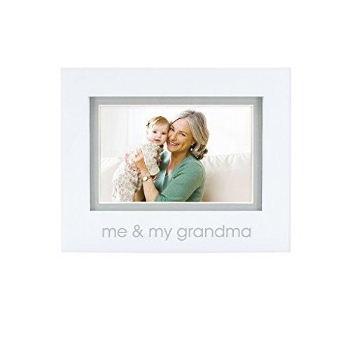Pearhead Me and My Grandma Keepsake Photo Frame, Grandma Gifts, Grandma and Me, White