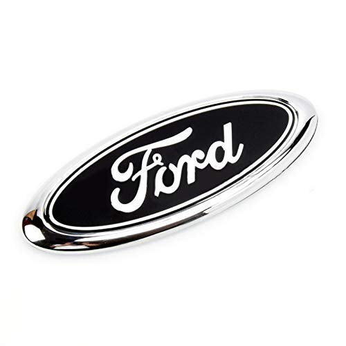 Emblemas de coches Pegatina delantera del coche Insignia del troncal para Ford Logo Mondeo MK4 MK5 MK3 ECOSPORT FIESTA ESPACIO TRANSIT KUGA FOCUS FOUND Insignia Accesorios Emblemas ( Color Name : B )