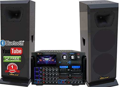 Why Should You Buy IDOLmain 8000W Professional Mixing Amplifier With 3000W 12 High-End Speakers Com...