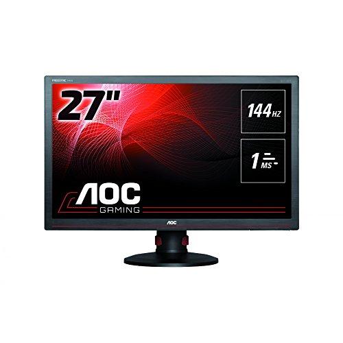 AOC G2770PF 68,6cm 27 Zoll TFT 16:9 300cd/m2 80M:1 1ms 1920x1080 Pivot USB HDMI TCO6 DVI schwarz