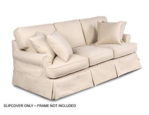 Sunset Trading Horizon Sofa Slipcover, Configurable, Tan