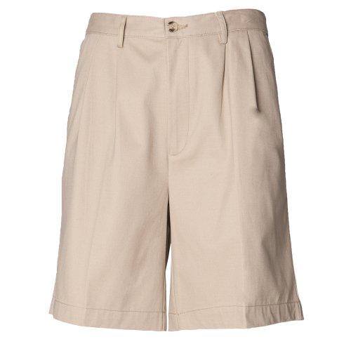 Henbury - Pantalones Cortos Chinos de Vestir Modelo Coated Resistente a Las...