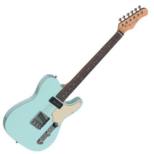 Guitarra septiembre Stagg eléctrico, mod. Telecaster, Azul