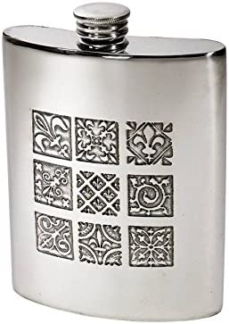 Wentworth Pewter- Medieval Pewter Spirit Hip Kidney Cheap Flask Factory outlet