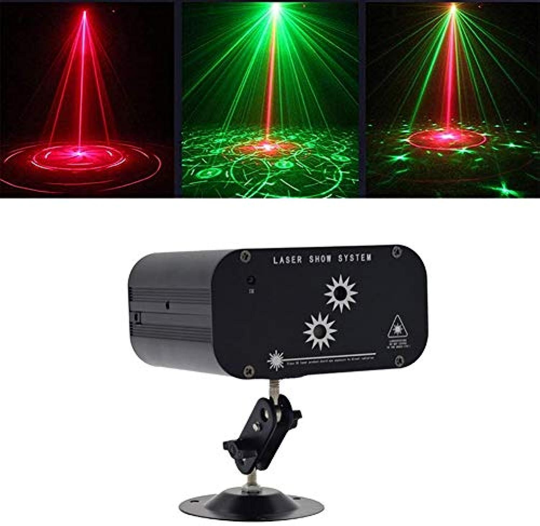 Bühnenlicht DJ Party Lichter Smart RGB Dance Party, Remote Multi Farbe 48-Muster Disco Light Familientreffen, Weihnachtsfeier, Sound aktiviert KTV Bar Pub Club, 9W -610