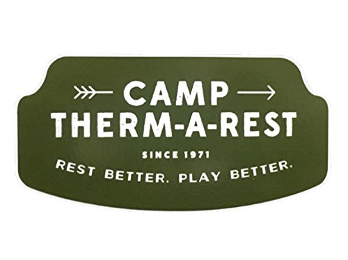 THERM-A-REST(サーマレスト)ステッカー CAMP 【 THERM A REST ・THERMAREST ・ サーマ レスト 】