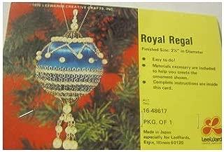 Vintage Lee Wards Royal Regal Beaded Ornament Kit