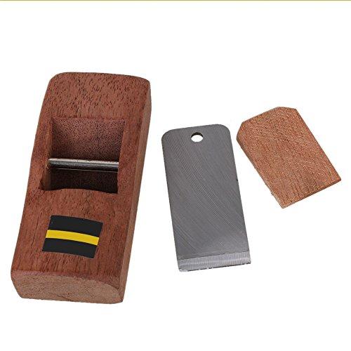 BQLZR 10 cm Marr/ón Mini Carpenter Wood Planer Afeitadora de manos Carpintero de cepillado DIY Herramienta de trabajo de madera