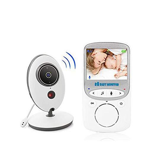 2.4 Ghz sans Fil Baby Sleeping Monitor Température Affichage Caméra Vidéo Surveillance Night Vision Nanny 2 Façon Audio Talk