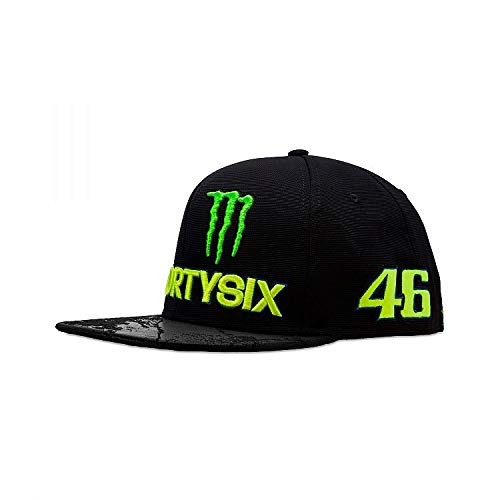 Valentino Rossi 2018 VR46#46 The Doctor Trucker Cap MotoGP Hats, 2018 Rossi Forty Six Cap, Erwachsene one Size