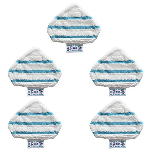 MUCHAO 5 PCS Cleaner Steam Mop Pads for Black & Decker FSM1610 FSM1630 Pièce de Rechange