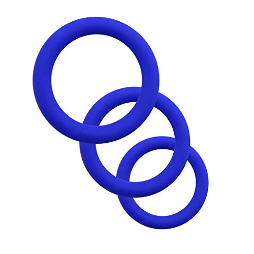 Silicone Penisringe Male Enhancement Exercise Bands O Ring 3 Different Size Cockringe Flexible Rings