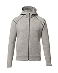 INTELLIGENT DESIGN: Warmth, sharp styling & smart design make this piece an essential. Straight simple cut, raglan sleeves, sleek zip pockets & headphone portal complete this well appointed classic. BY ATHLETES, FOR ATHLETES: Optimal marriage of comf...