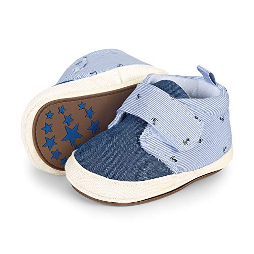 Sterntaler Baby Jungen Schuh Slipper, Blau (Himmel 2301924), 20 EU