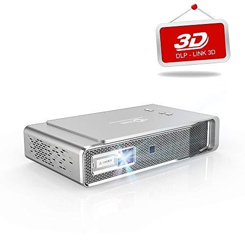 TOUMEI V5 Videoprojecteur, 1280*800 Full HD Pico Projecteur...