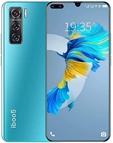 WWJ telefones celulares desbloqueados de 6,7 polegadas, Smartphone Android Barato, 1 GB de RAM 8 GB ROM 128 GB expansível, identificador de rosto compatível e desbloqueio de impressão digita