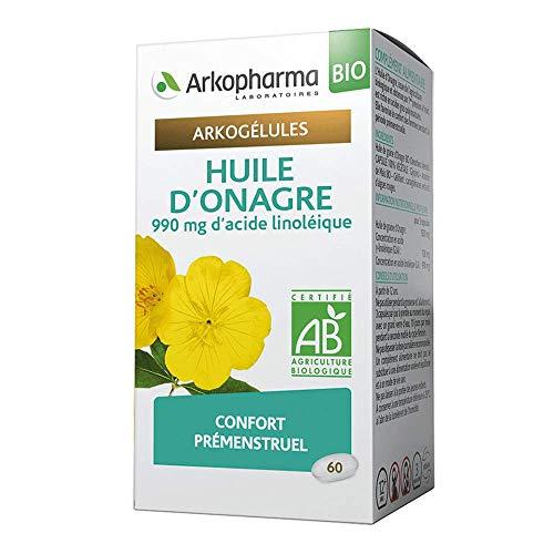 Arkopharma Arkogelules Huile d'Onagre Bio 60 Capsules 1 Unité