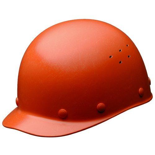 ミドリ安全 ヘルメット 一般作業用 熱場作業用 通気孔付 SCS1V RA KPなし オレンジ