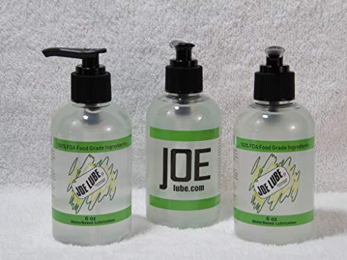 Joe Lube Water Based Lubricant Gel